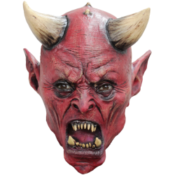 Diabeł Maska Lateksowa...