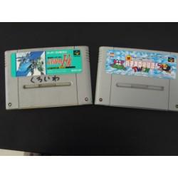 Gundam plus inna gra SNES NTSC